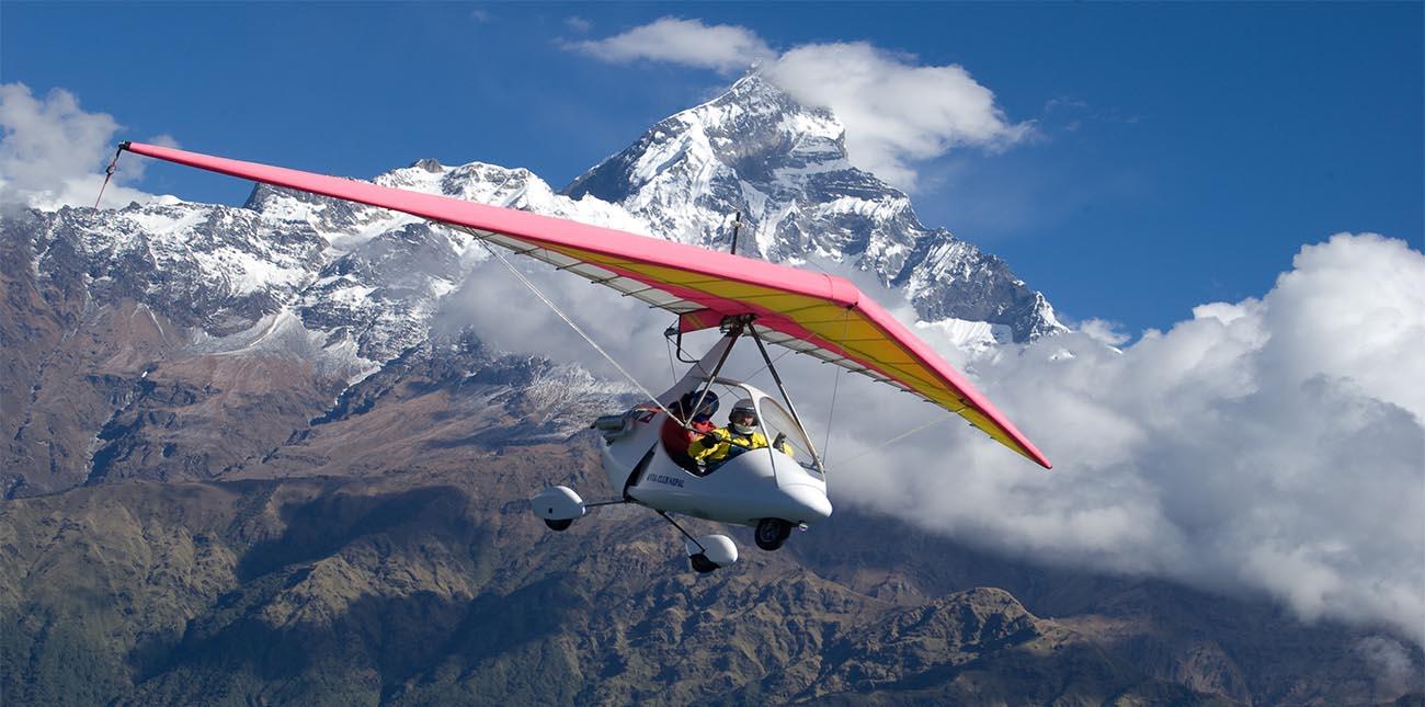 Hang Glider in Nepal, Nepal Hang Gliding