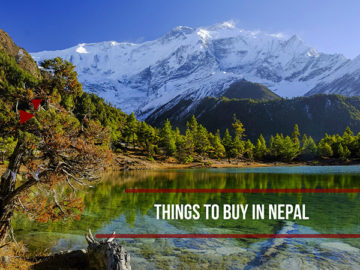 things to buy in nepal