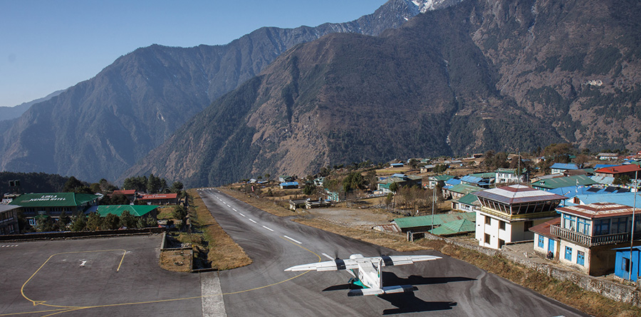 Himalaya Airport Lukla